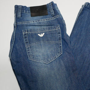 AJ Armani Jeans Italy Mens 33 x 32